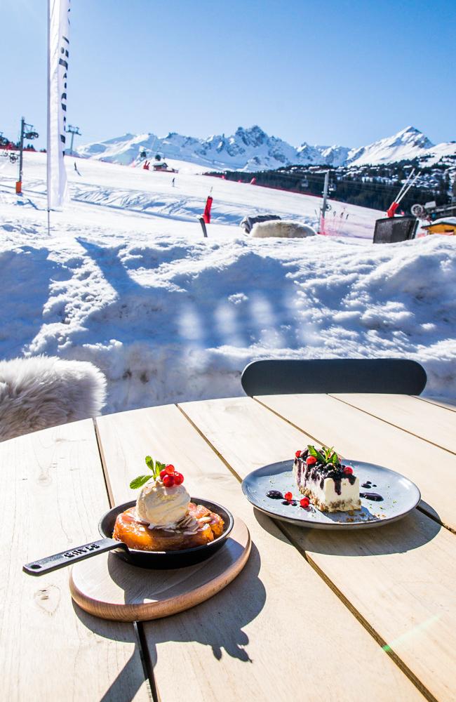 Bistrot Manali Courchevel Moriond - Desserts
