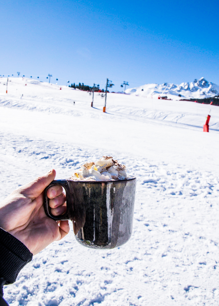 Bistrot Manali Courchevel Moriond - Hiver chocolat chaud
