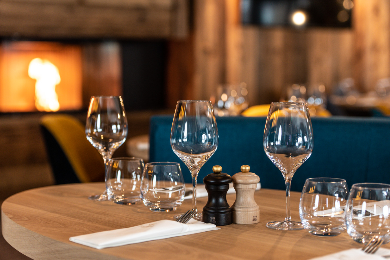Bistrot Manali Courchevel Moriond - Salle restaurant